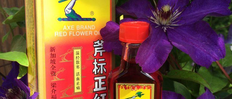 Hiina punase lille õli