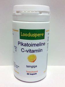 Pikatoimeline C-vitamiin